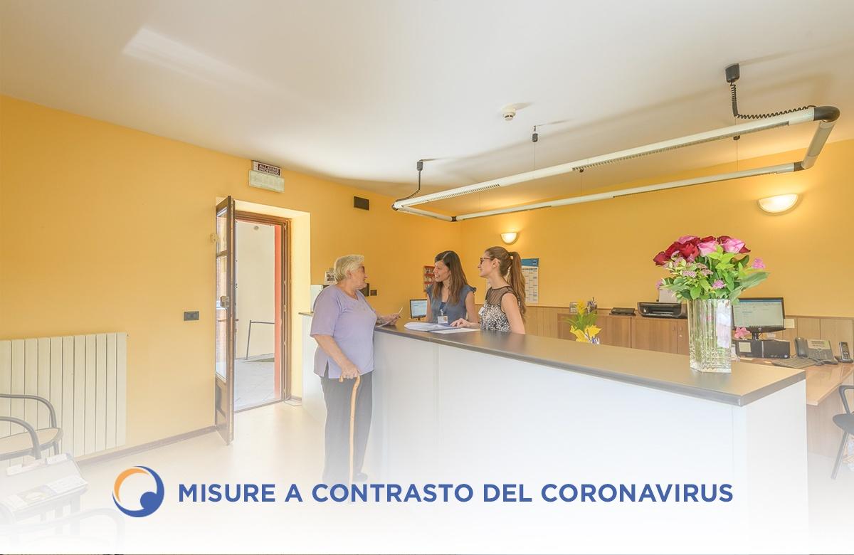 Nuove misure per il contrasto ed il contenimento del Coronavirus