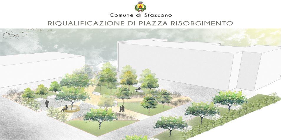 Nuova vita per Piazza Risorgimento del Comune Stazzano (AL)