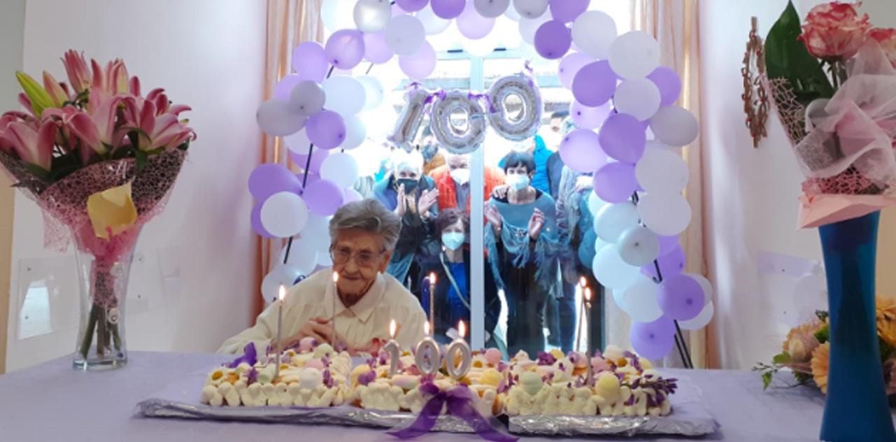 Il Centenario della nostra Ospite Elvira