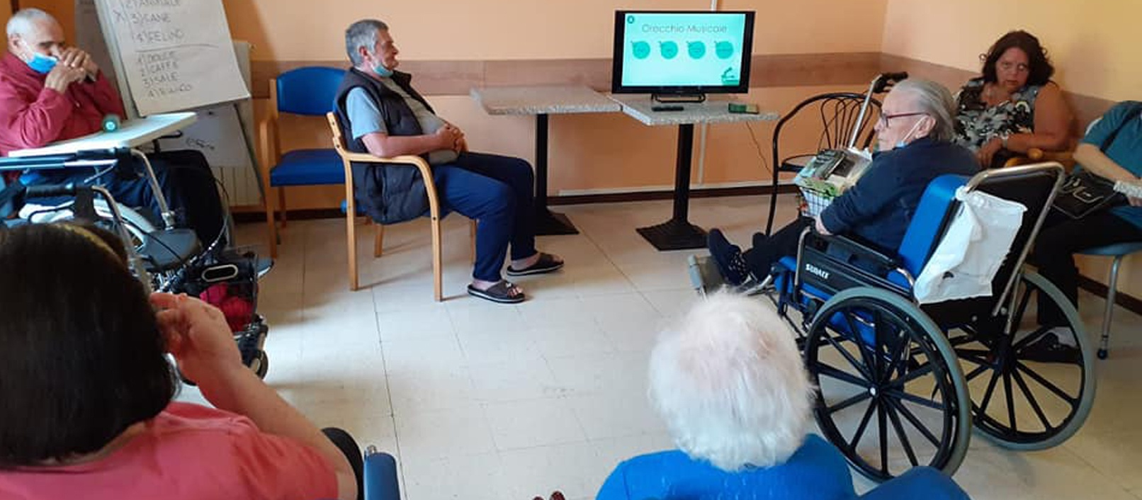 Dynseo, stimolazione cognitiva per Anziani della nostra Rsa di Cuneo