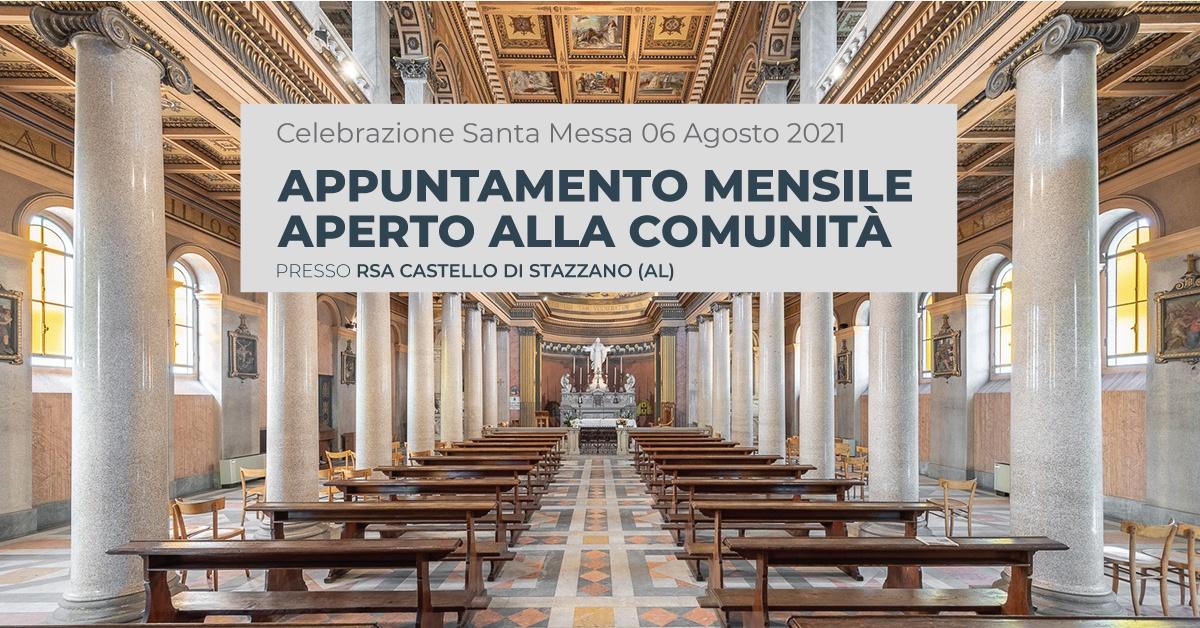 La Santa Messa di Rsa Castello di Stazzano