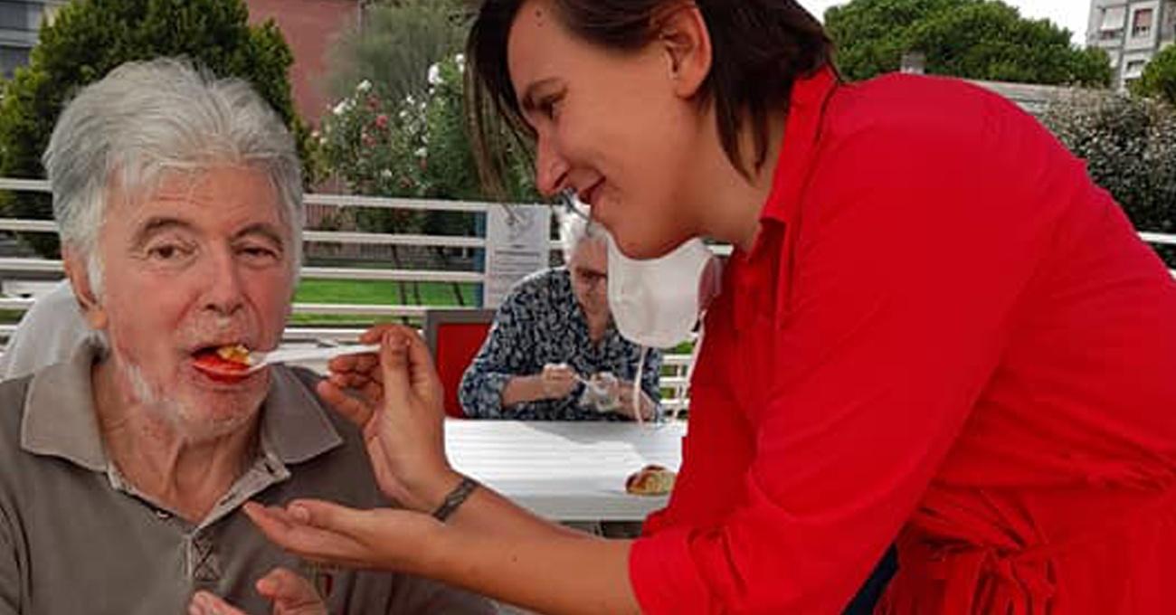Festa della Granita Siciliana nella Rsa di Savona