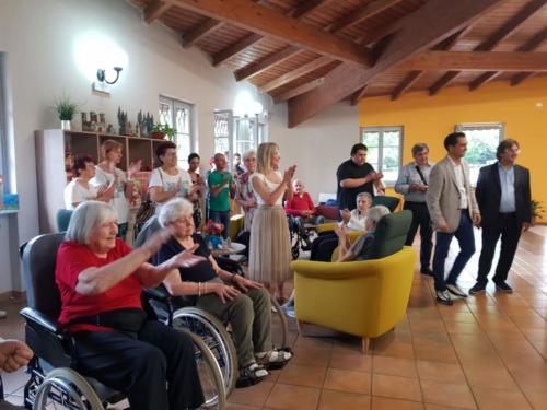 rsa Castello di Stazzano-inaugurazione post restyling 4