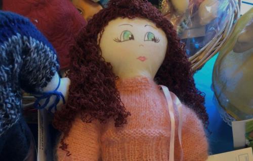 Unicef Pigotta: bambola realizzata a mano